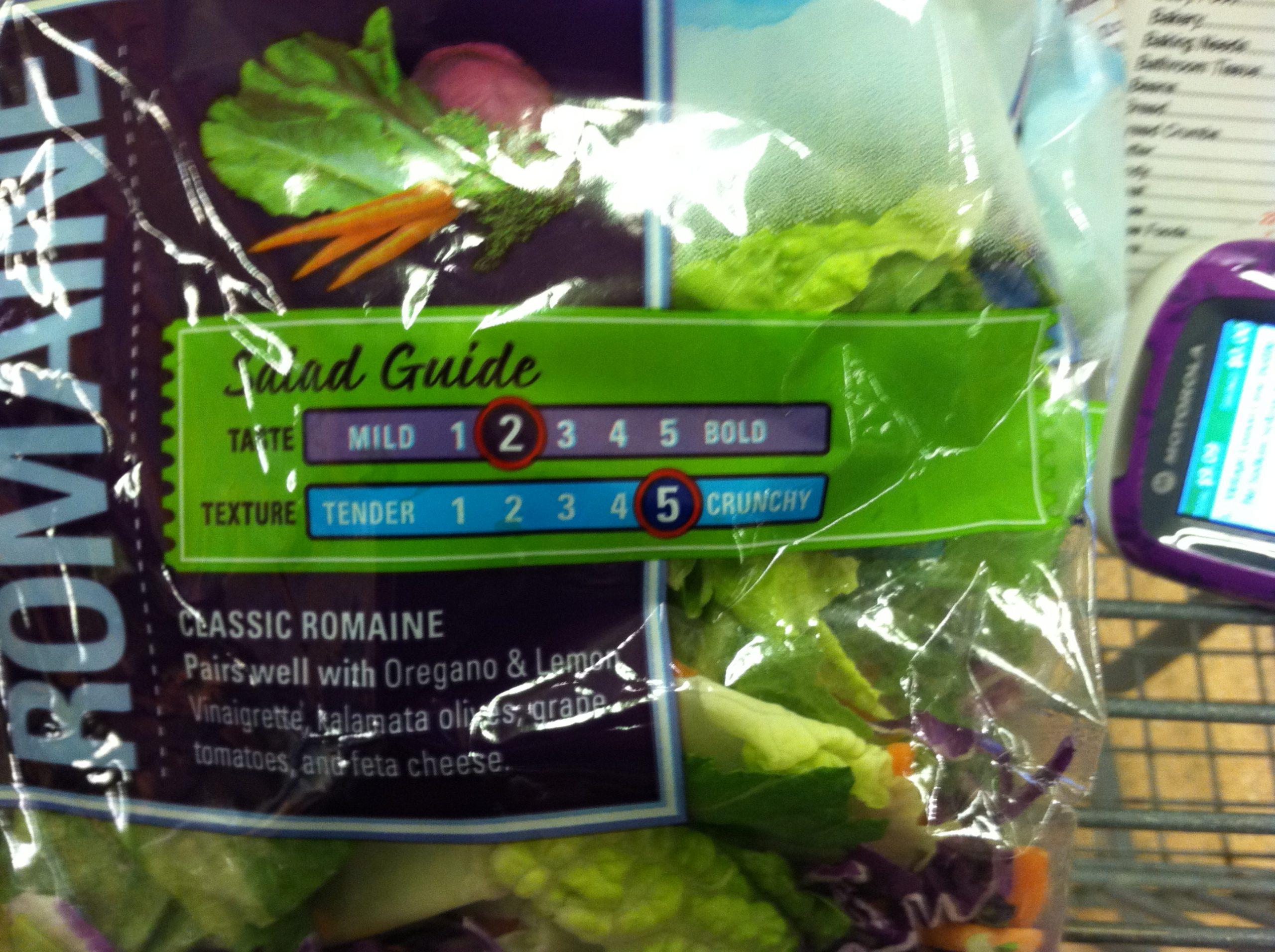 Analog Salad is sooo not crunchy